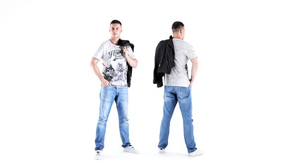 Man casual style 03 - 3DOcean Item for Sale