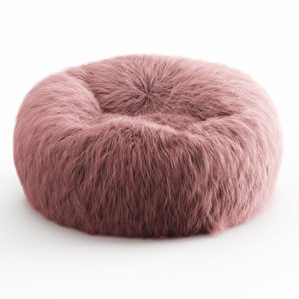 Himalayan Faux-Fur Beanbag - 3DOcean Item for Sale