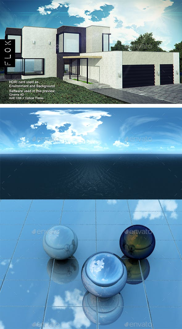 Daylight Sea 48 - 3DOcean Item for Sale