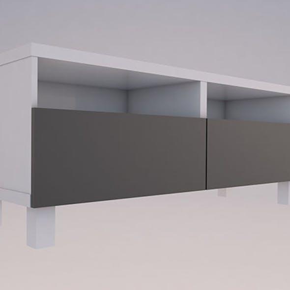 Ikea BESTA TV shelf 3D model