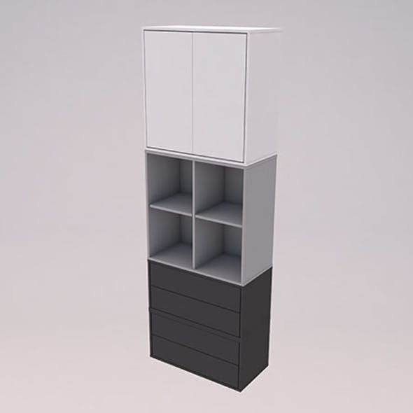 Ikea EKET cabinet combination Low-poly