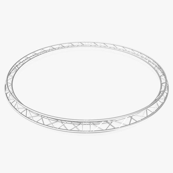 Circle Triangular Truss (Full diameter 600cm) - 3DOcean Item for Sale