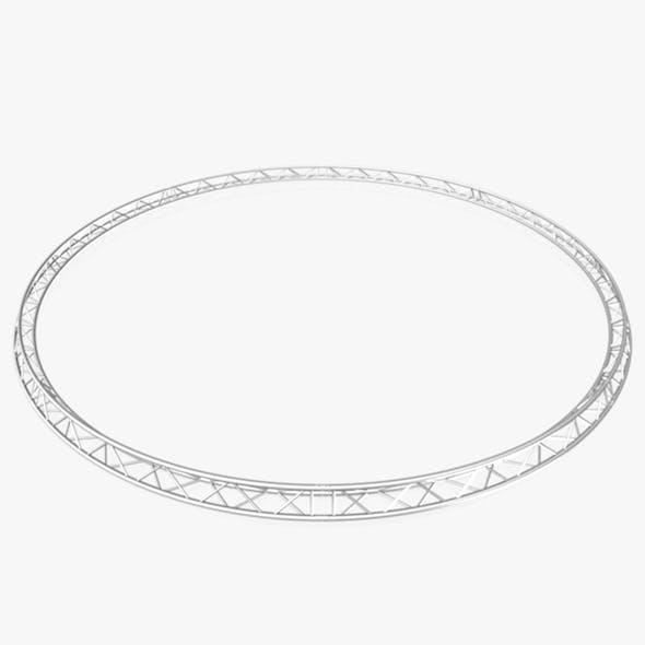 Circle Triangular Truss (Full diameter 800cm) - 3DOcean Item for Sale