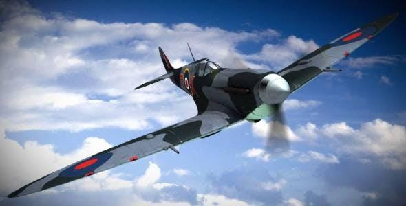 SUPERMARINE SEAFIRE MK IIC 880th Squadron - 3DOcean Item for Sale