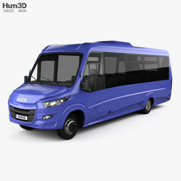 Iveco Daily VSN-700 Bus 2018 - 3DOcean Item for Sale