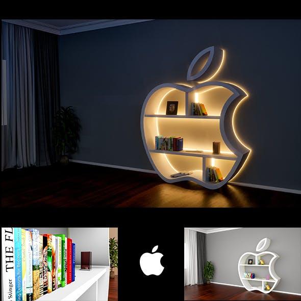 Apple bookshelf