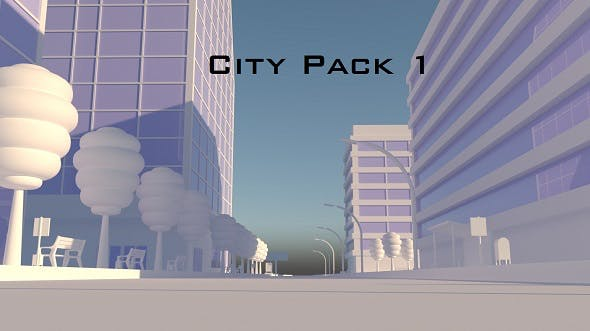 City Pack 1 - 3DOcean Item for Sale