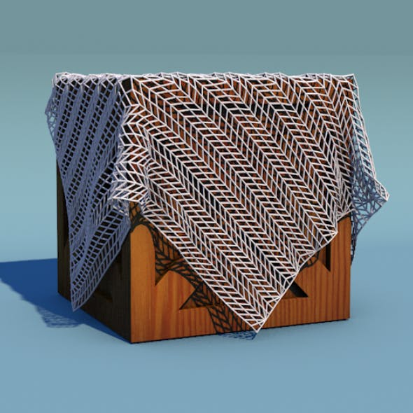 wooden crate(BOX)