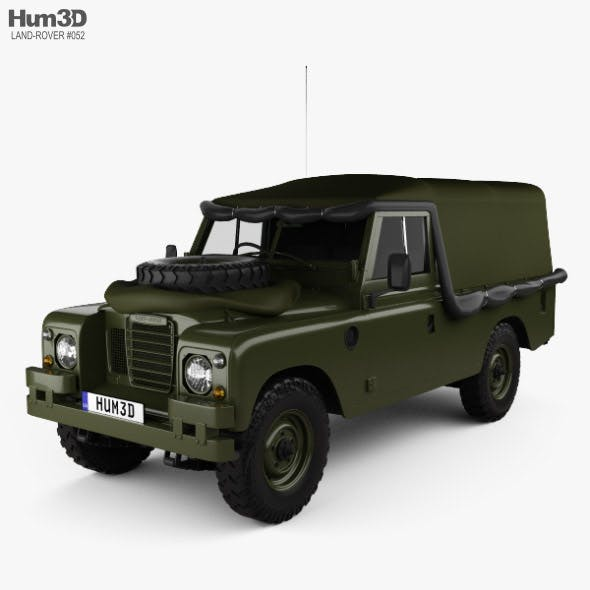 Land Rover Series III LWB Military FFR with HQ interior 1985