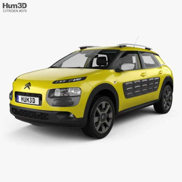 Citroen C4 Cactus with HQ interior 2015