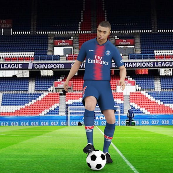 Kylian Mbappe rigged