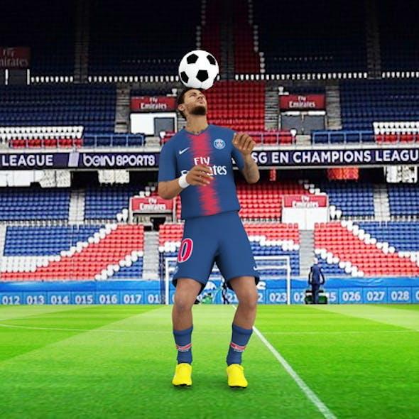 Neymar rigged