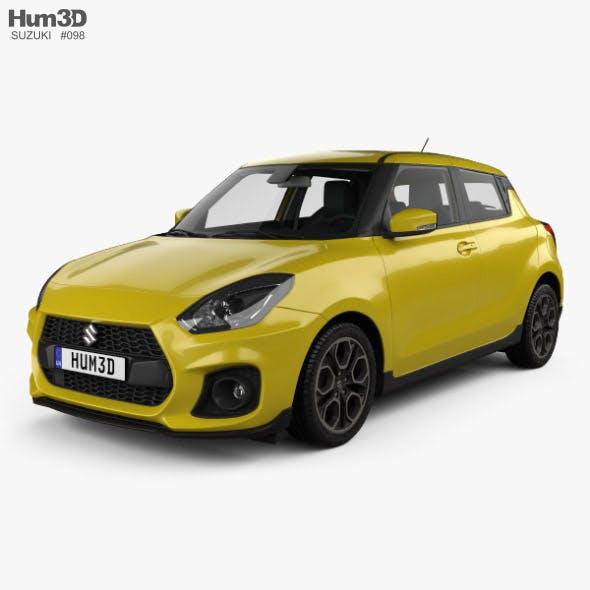 Suzuki Swift Sport with HQ interior 2017 - 3DOcean Item for Sale