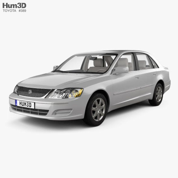 Toyota Avalon XL with HQ interior 2001 - 3DOcean Item for Sale