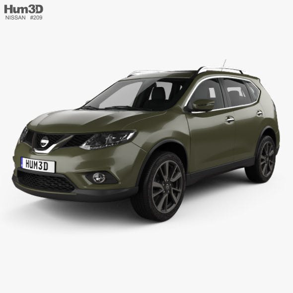 Nissan Rogue with HQ interior 2017