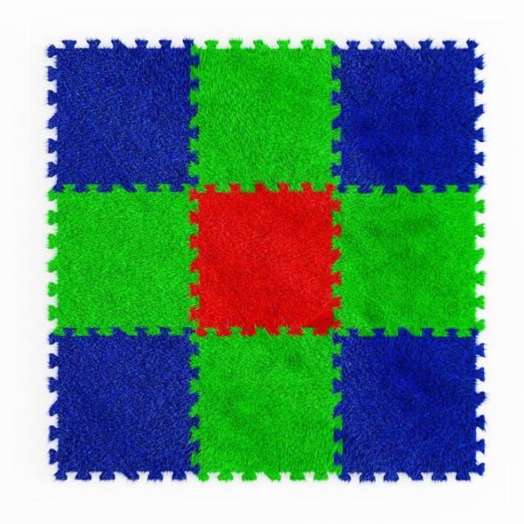 Puzzle Carpet Fur