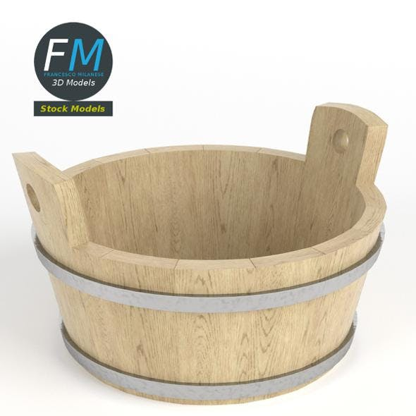 Round kneading trough - 3DOcean Item for Sale