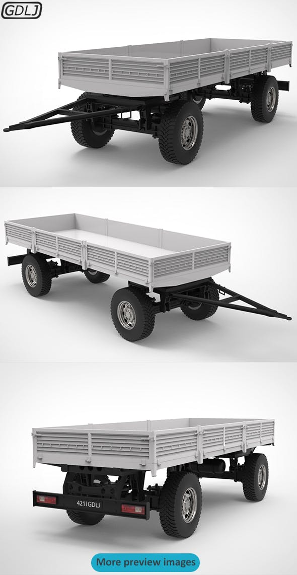 Trailers V1.2 - 3DOcean Item for Sale