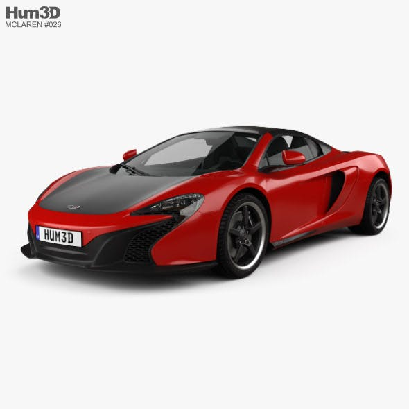 McLaren 650S Can-Am with HQ interior 2016