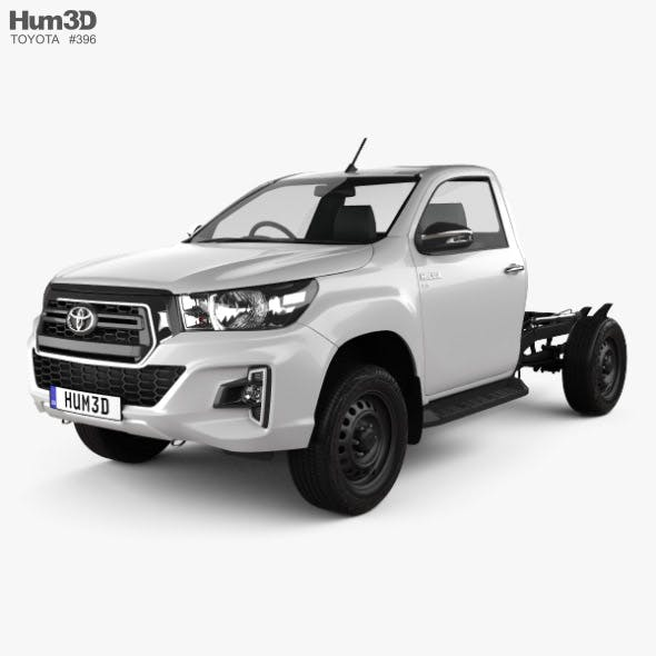 Toyota Hilux Single Cab Chassis SR 2019