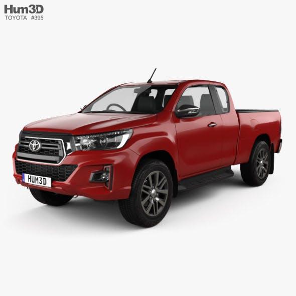 Toyota Hilux Extra Cab Raider 2019