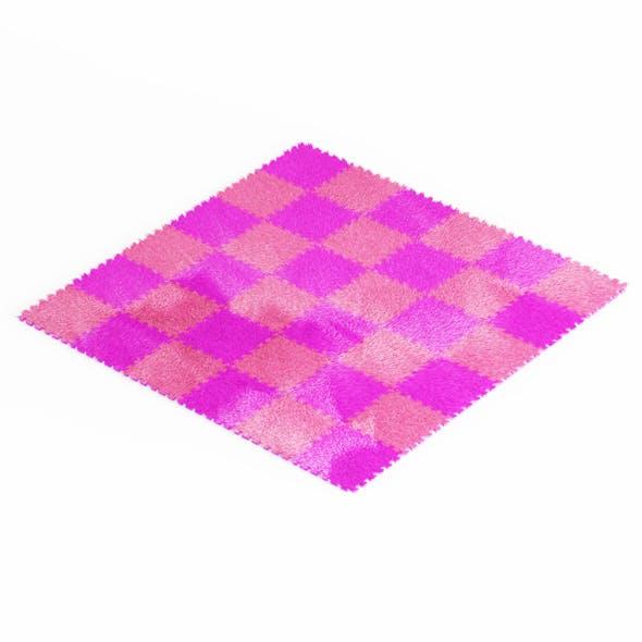 Puzzle Carpet Fur - 3DOcean Item for Sale