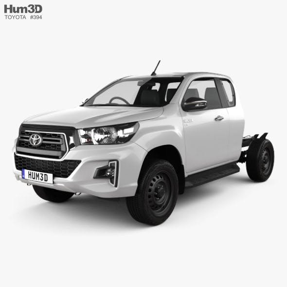 Toyota Hilux Extra Cab Chassis SR 2019