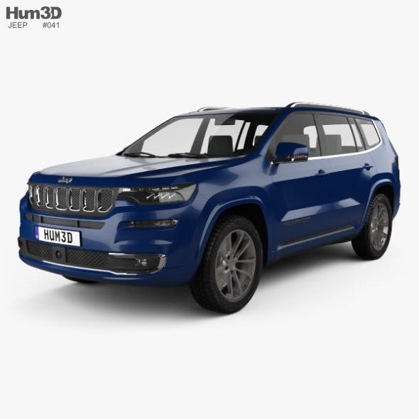 Jeep Commander Limited 2018 - 3DOcean Item for Sale