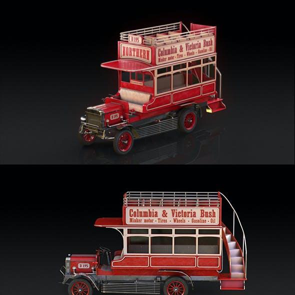 Retro bus