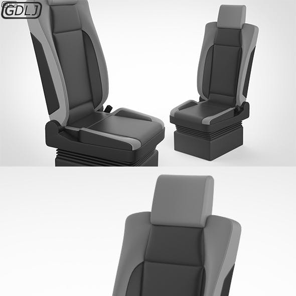 Truck Seat Structure