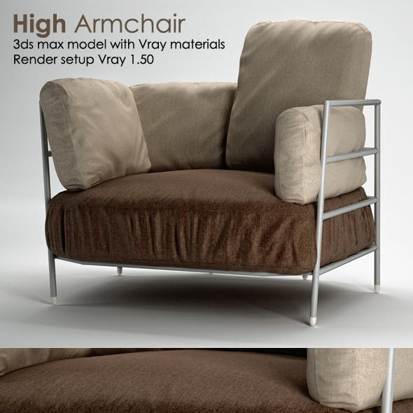 High Armchair