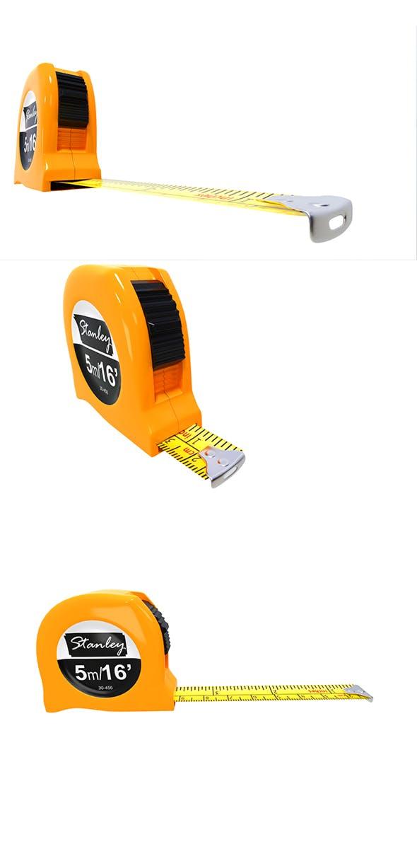 tape measure 3d model - 3DOcean Item for Sale