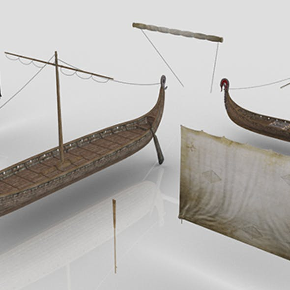 Viking Drakkars