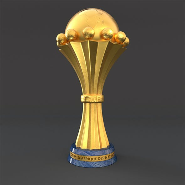 africa cup 3d model