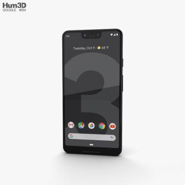 Google Pixel 3 XL Just Black - 3DOcean Item for Sale