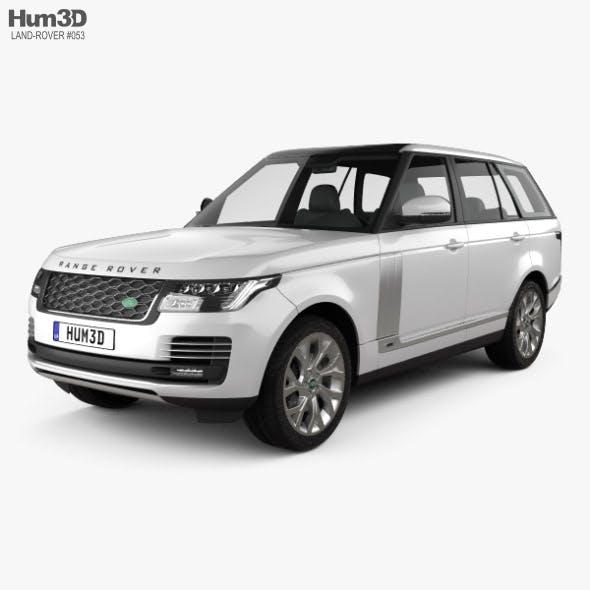 Land Rover Range Rover Autobiography 2018