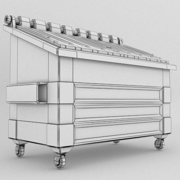 Dumpster V1 - 3DOcean Item for Sale