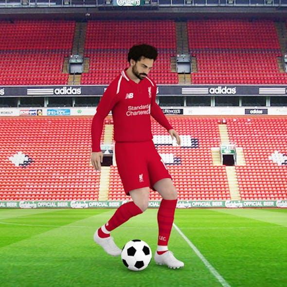 Mohamed Salah rigged model