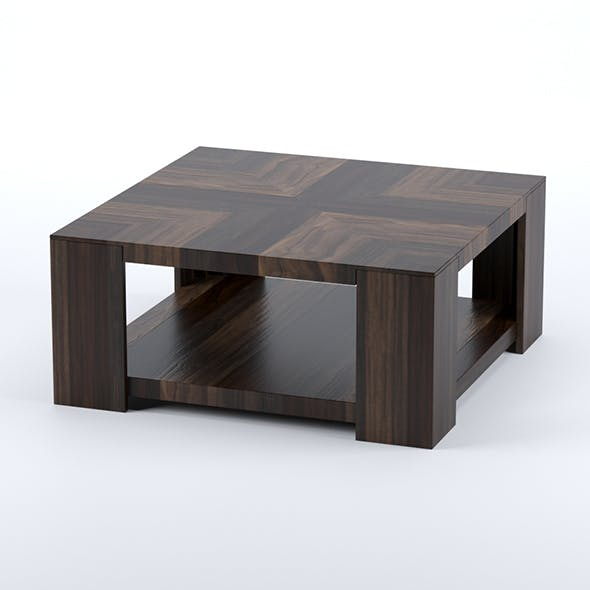 Hooker Furniture cocktail table - Across the grain square