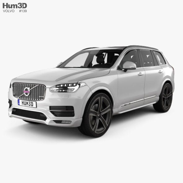 Volvo XC90 Heico with HQ interior 2016 - 3DOcean Item for Sale