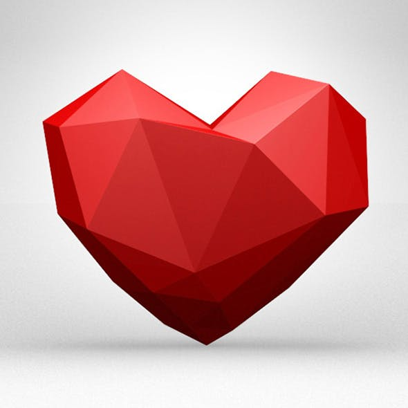 Low Poly Heart
