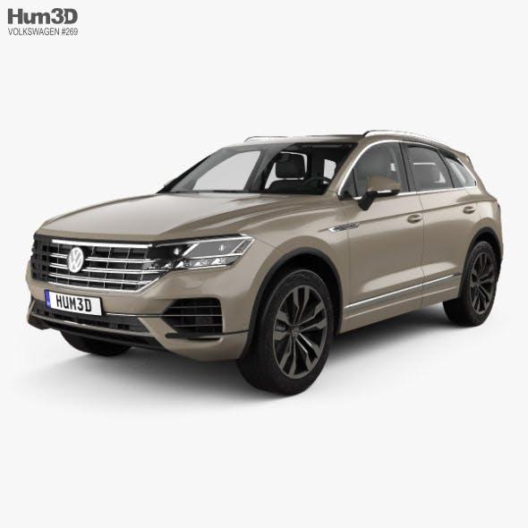 Volkswagen Touareg Elegance with HQ interior 2018 - 3DOcean Item for Sale