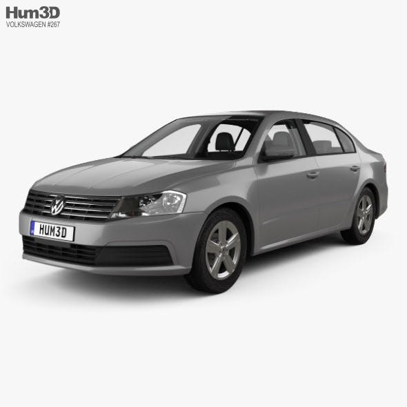 Volkswagen Lavida sedan with HQ interior 2015