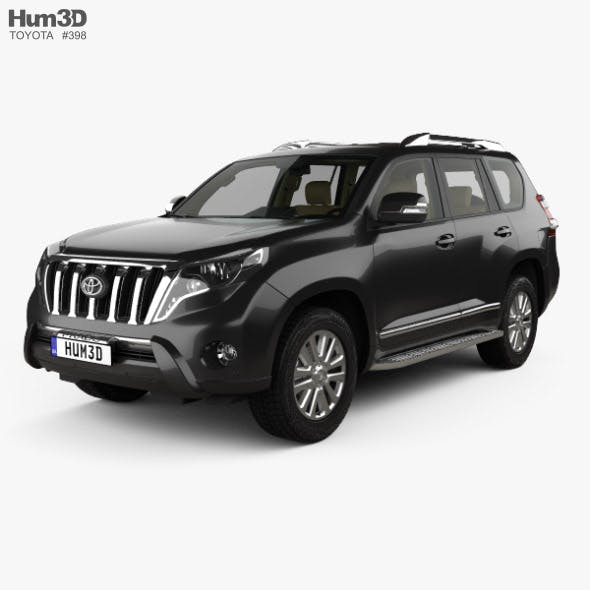 Toyota Land Cruiser Prado VXR 5-door with HQ interior 2016