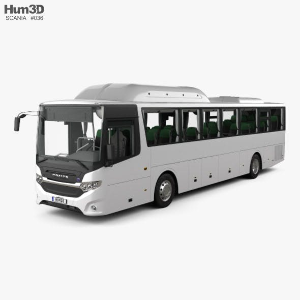 Scania Interlink Bus with HQ interior 2015