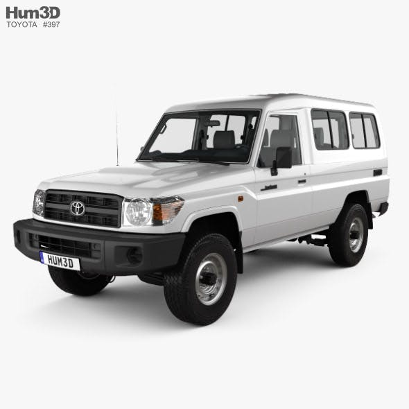 Toyota Land Cruiser (J78) Wagon with HQ interior 2010