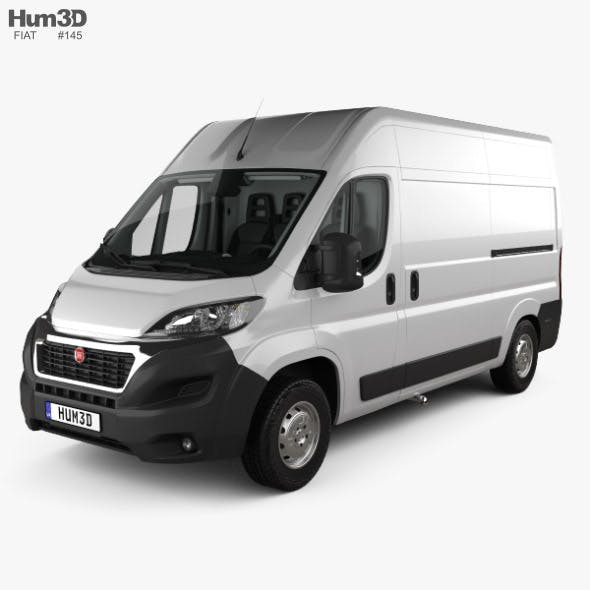 Fiat Ducato Panel Van L2H2 with HQ interior 2014