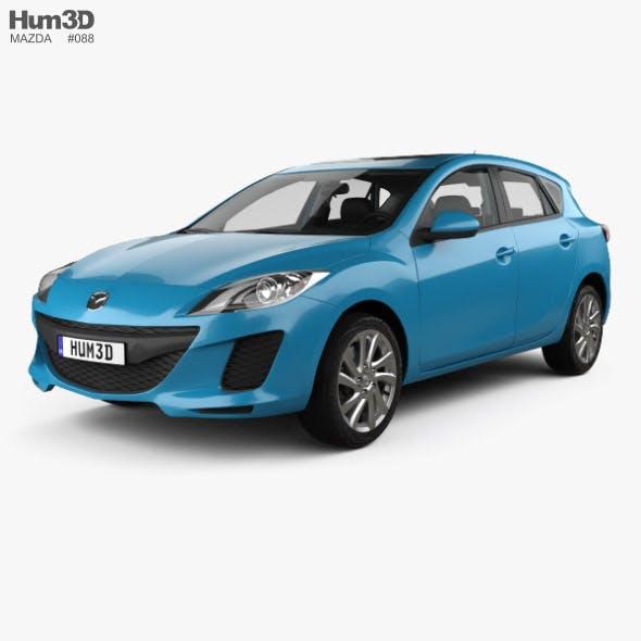 Mazda 3 US-spec hatchback with HQ interior 2011 - 3DOcean Item for Sale