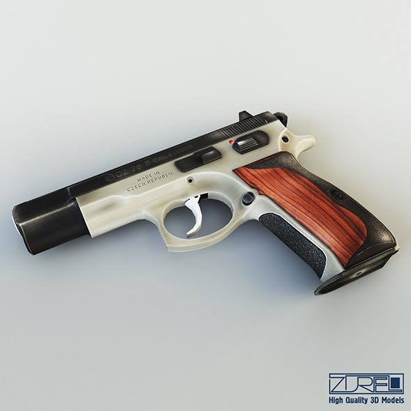 CZ 75 Low Poly v 1