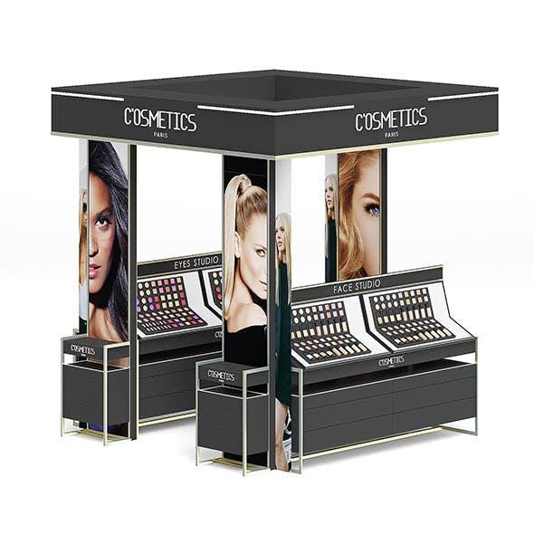 Cosmetics Stand 3D Model